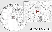 Blank Location Map of Chiana-Paga