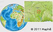 Physical Location Map of Chiana-Paga