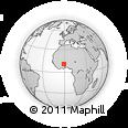 Outline Map of Chiana-Paga