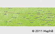 Physical Panoramic Map of Chiana-Paga
