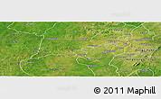 Satellite Panoramic Map of Chiana-Paga
