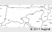 Blank Simple Map of Chiana-Paga