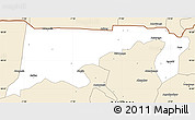 Classic Style Simple Map of Chiana-Paga