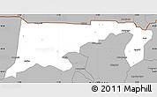 Gray Simple Map of Chiana-Paga
