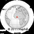 Outline Map of Kusanaba-Zebilla