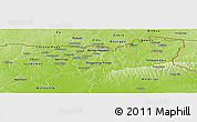 Physical Panoramic Map of Upper East
