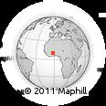Outline Map of Upper West