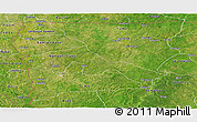 Satellite Panoramic Map of Upper West