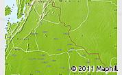 Physical Map of Adaklu-Anyigbe