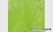 Physical Map of Amenfi