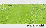 Physical Panoramic Map of Amenfi