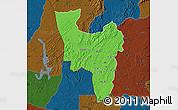 Political Map of Aowin, darken