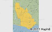 Savanna Style Map of Western
