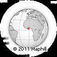 Outline Map of Sekondi-Takoradi