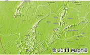 Physical 3D Map of Wiawso