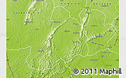 Physical Map of Wiawso