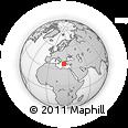 Outline Map of Attiki