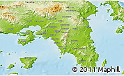 Physical 3D Map of Piraieus