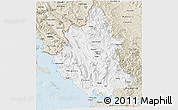 Classic Style 3D Map of Ipiros