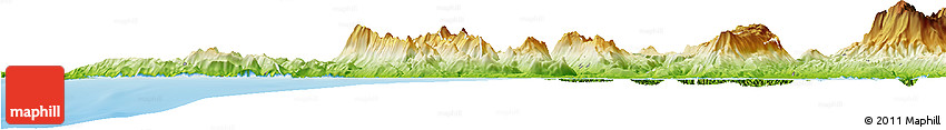 Physical Horizon Map of Preveza