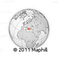 Outline Map of Preveza