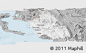 Gray Panoramic Map of Thesprotia