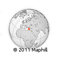 Outline Map of Kriti