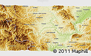 Physical 3D Map of Grevena