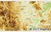 Physical Map of Grevena