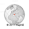 Outline Map of Kavala