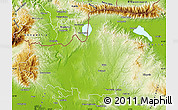 Physical Map of Kilkis