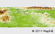 Physical Panoramic Map of Kilkis