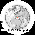 Outline Map of Kozani