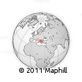 Outline Map of Pella