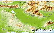 Physical 3D Map of Serrai