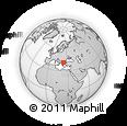 Outline Map of Serrai