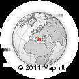 Outline Map of Kerkira