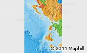 Political Shades Map of Nissia Ioniou
