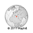 Outline Map of Lakonia