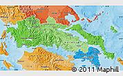 Political Shades Map of Sterea Ellas