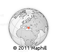 Outline Map of Thessalia