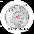 Outline Map of Trikala