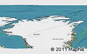 Satellite 3D Map of Nordgronland
