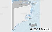 Gray 3D Map of Ostgronland