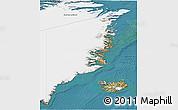 Satellite 3D Map of Ostgronland