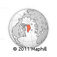 Outline Map of Greenland