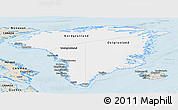 Classic Style Panoramic Map of Greenland