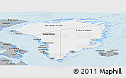 Gray Panoramic Map of Greenland