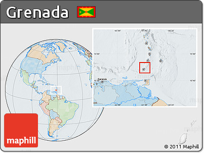 grenada location on world map - 28 images - physical location map of ...