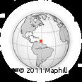 Outline Map of Grenada
